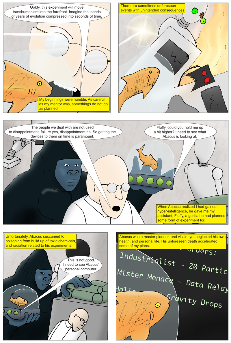Gorilla Fish Origin Page 2