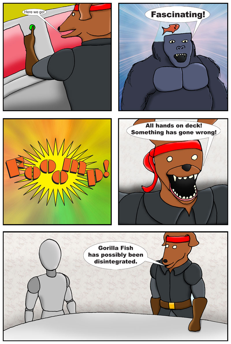 Gorilla Fish First Contact page 2