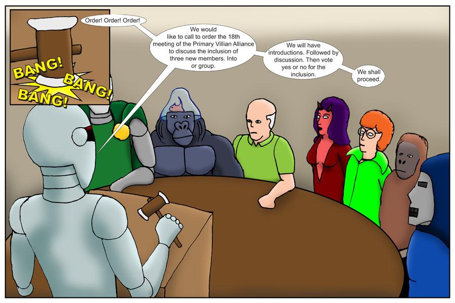 Gorilla Fish Meetings Page 1