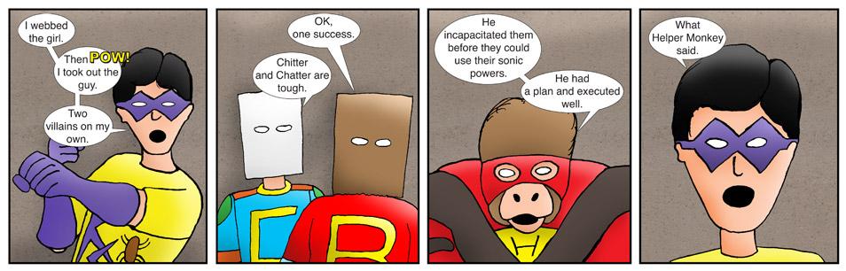 Kid Spider Adventures Beginnings Comic 21