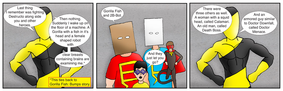 Kid Spider Adventures Speed Up Comic 1