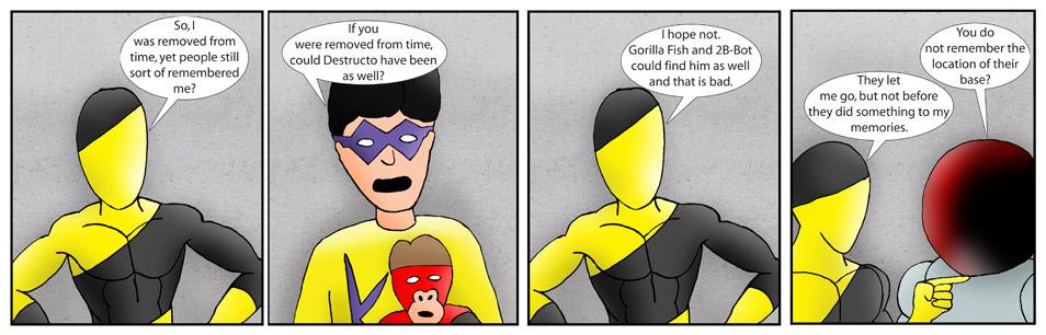 Kid Spider Adventures Speed Up Comic 6
