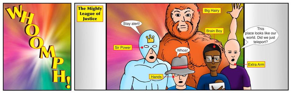 Kid Spider Adventures Mighty Return Comic 1