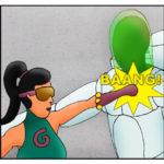 Kid Spider Adventures Mighty Return Comic 10