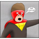 Kid Spider Adventures Mighty Return Comic 12