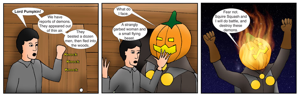 Kid Spider Adventures Time Jump Comic 8