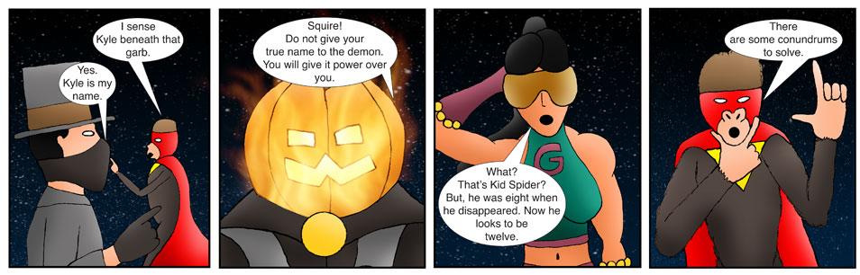 Kid Spider Adventures Time Jump Comic 13