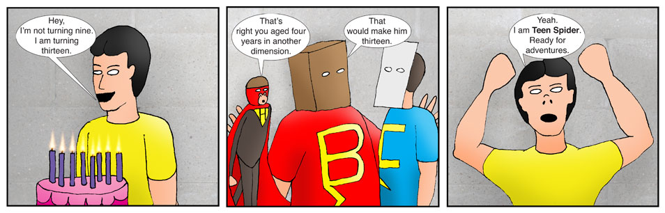 Kid Spider Adventures Moving On Comic 1