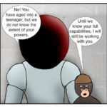 Kid Spider Adventures Moving On Comic 7