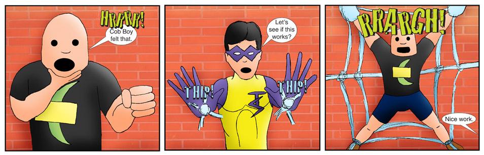 Teen Spider Adventures Re-Branded Comic 3