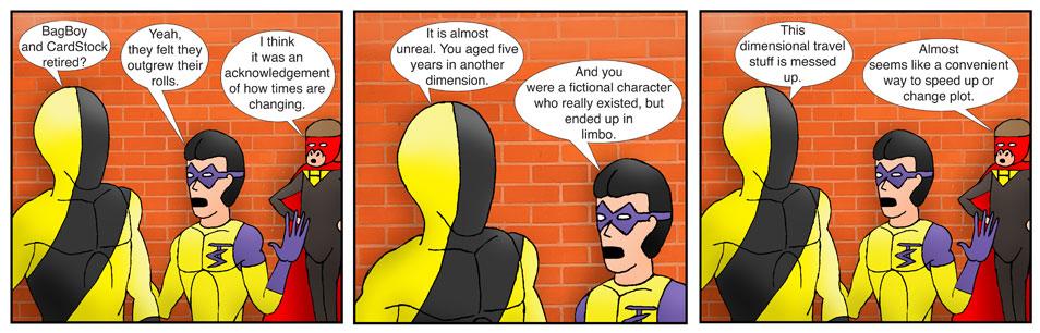 Teen Spider Adventures Re-Branding Comic 5
