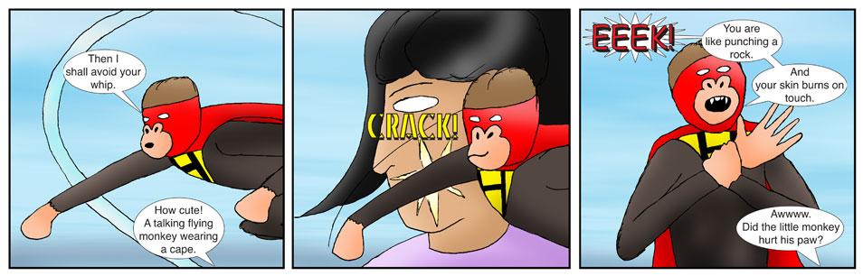 Teen Spider Adventures Return Point Comic 3