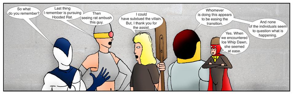Teen Spider Adventures Return Point Comic 15