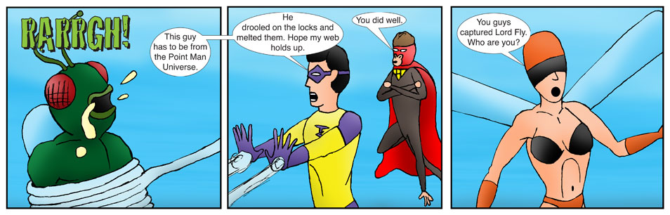 Teen Spider Adventures Return Point Comic 17