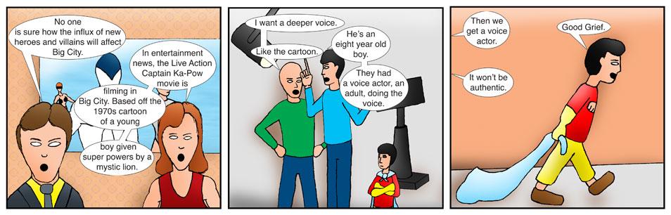 Teen Spider Adventures Ka-Pow Comic 1