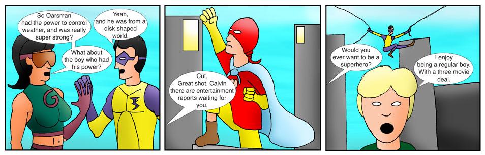 Teen Spider Adventures Ka-Pow Comic 11