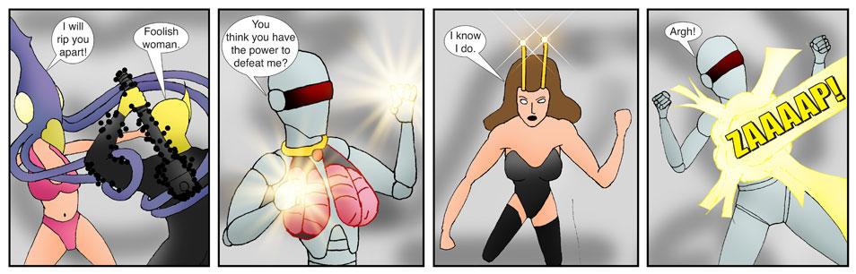 Teen Spider Adventures Universe Comic 5