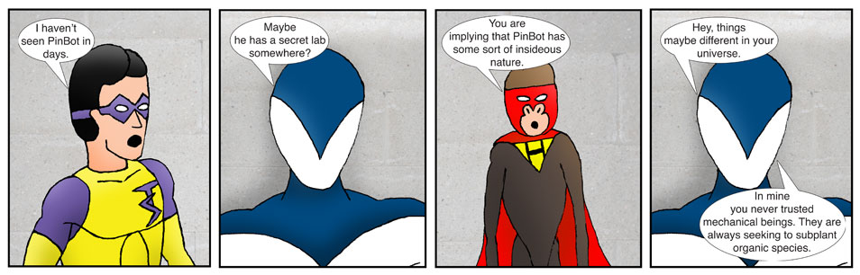 Teen Spider Adventures Universe Comic 8