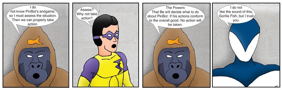 Teen Spider Adventures Universe Comic 18