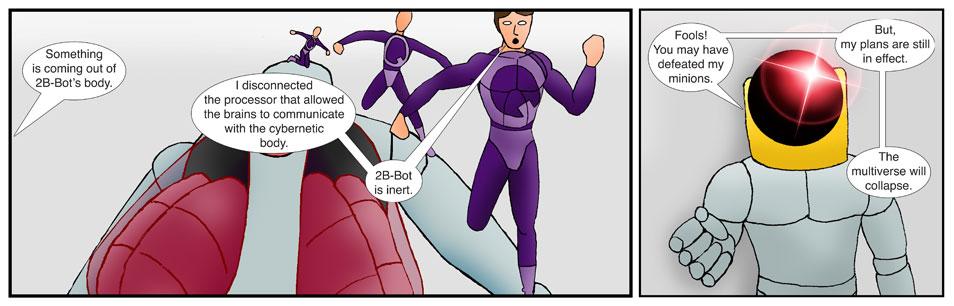 Teen Spider Adventures Universe Comic 52