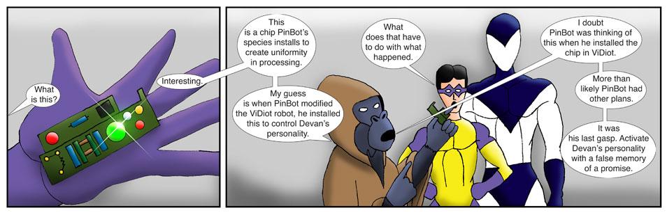 Teen Spider Adventures Universe Comic 64