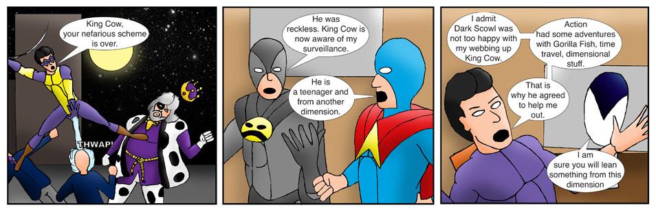 Teen Spider Adventures Internship Comic 01