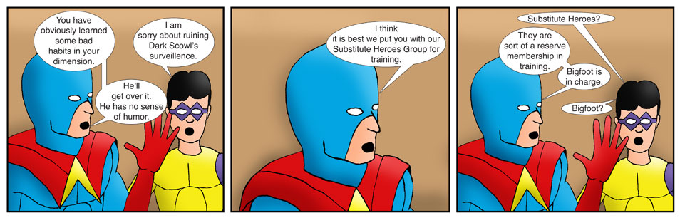 Teen Spider Adventures Internship Comic 02